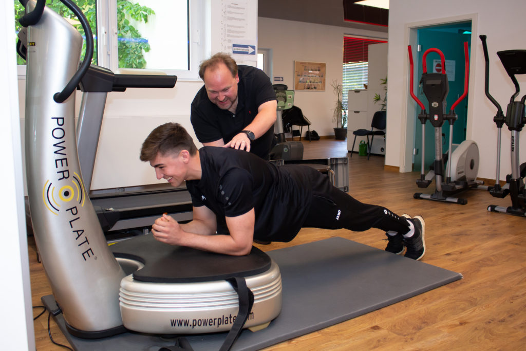 Power Plate Physiotherapie Bangert und Kegel