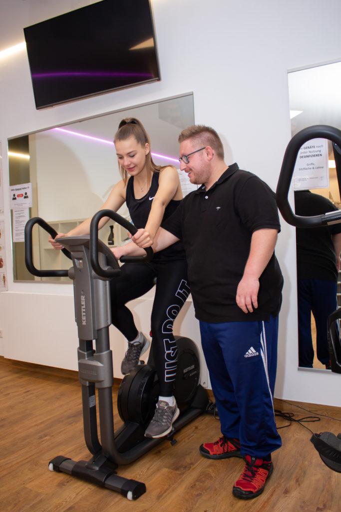 Trainer Physiotherapie Bangert und Kegel
